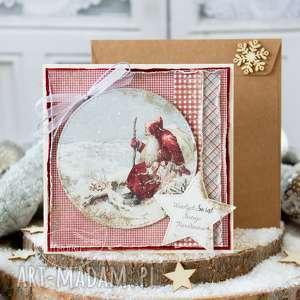 przepiękna i wyjątkowa kartka świąteczna. boże narodzenie. (kartka)