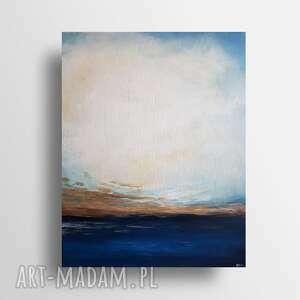 abstrakcja-obraz akrylowy formatu 40 50 cm, akryl płótno