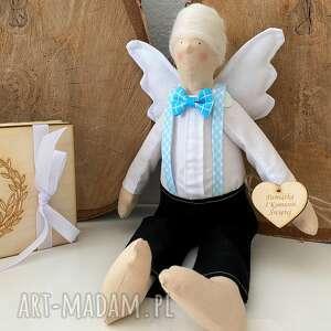 lalki anioł pamiątka pierwszej komunii świętej chrztu świętego, na chrzest