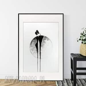 obraz ręcznie malowany 50 x 70 cm, nowoczesna abstrakcja, 2854571
