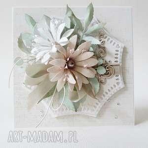 scrapbooking kartki ślubny szyk - w pudełku, ślub, gratulacje, życzenia
