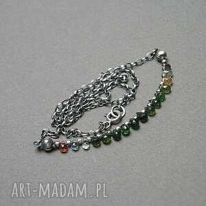 Colourful - naszyjnik naszyjniki katia i krokodyl srebro