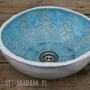 umywalka wolnostojąca ręcznie robiona, unikatowa umywalka, łazienkowa