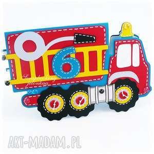 urodzinowe autko - wóż strażacki - auto, straż-pożarna, chłopiec