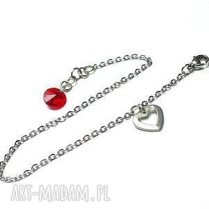 alloys collection - line red vol 2, stal, szlachetna, chirurgiczna, swarovski