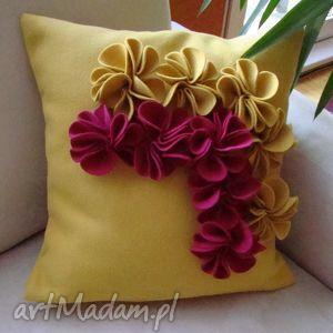 hand-made poduszki poduszka ozdobna przestrzenna