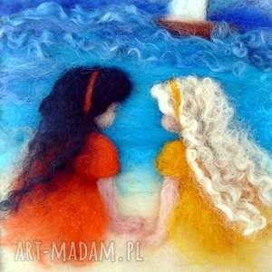 magisches-atelier nad brzegiem morza obraz z kolekcji die - dziewczynka