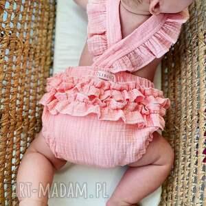 prezent na święta, rampers pink, polska marka, lato dla dziewczynki