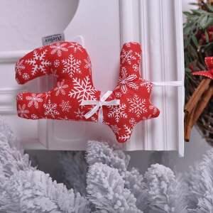 ozdoby świąteczne renifer świąteczny czerwony, święta, dekoracja-święta