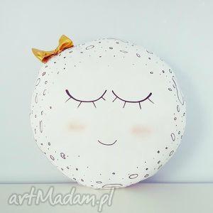 poduszka moon księżyc, pokoik, różowa, poduszka, dekoracyjna, moon