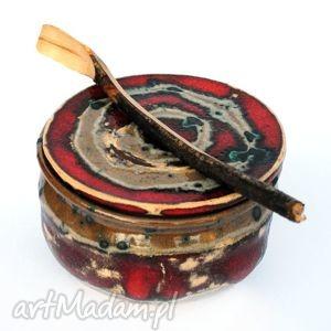 malgorzata wosik ceramiczny pojemnik - pojo , pojemnik, naczynie, ceramika, użytkowe