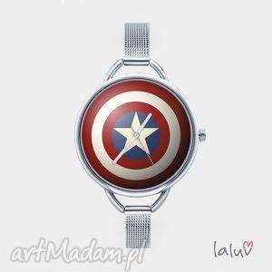 ręcznie zrobione zegarki zegarek z grafiką tarcza