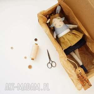 Prezent Lalka z tkaniny - hand made - Juno Monsterówna, lalka-kolekcjonerska