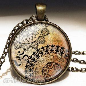 orient - duży medalion z łańcuszkiem - naszyjnik, prezent