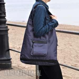 duŻa pojemna torba siatka fioletowy, torba, torebka, na ramię, torebka ramię