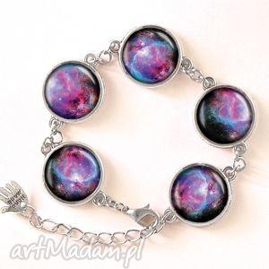 nebula - bransoletka - nowoczesna, kosmiczna, prezent, galaxy