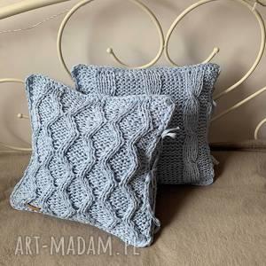 Prezent bawełniana poszewka na poduszkę, poduszka, na-drutach