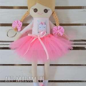 ręcznie zrobione lalki szmacianka, szmaciana laleczka w tutu