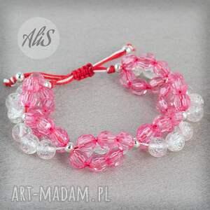 Różowe szkło - Hand-Made