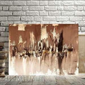 esterka miasto cieni, szary obraz, obraz do nowoczesnego wnę, abstrakcyjny