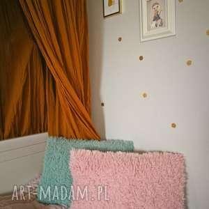 pokoik dziecka futerkowa poduszka rÓŻowa, poduszka, ozdoba, dziecko, róż