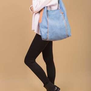 furia - torba worek - niebieska - worek, wygodna, swobodna, prezent, wyjątkowa