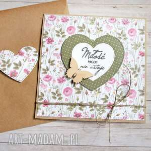 Miłość kartka ślubna, rocznicowa, miłosna kartki kaktusia ślub,