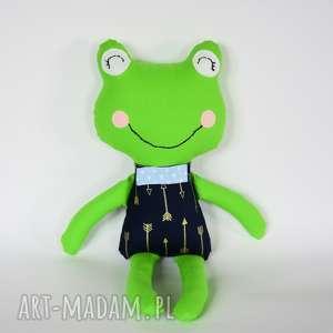 Żabka - elegant Krzyś 46cm, żabka, boho, strzała, chłopczyk, maskotka