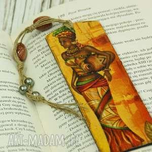 Drewniana zakładka do książi - afryka zakładki shiraja zakładka,