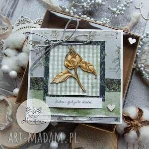 scrapbooking kartki magiczna kobieca kartka piękna i spokoju w sercu