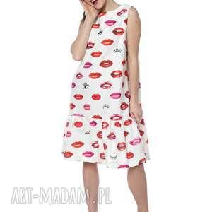 sukienki sukienka princessa 100% bawełna - usta