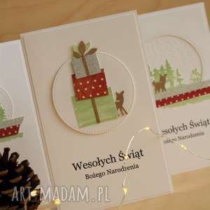 pomysł na prezent Kartka świąteczna, święta, kartka, kartki, życzenia