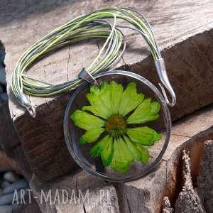 ręcznie robione naszyjniki naszyjnik z suszonym kwiatem wzór