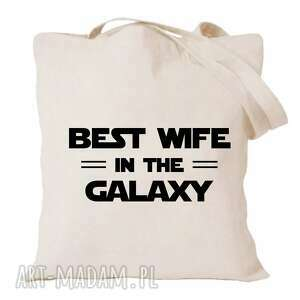torba z nadrukiem dla żony, żonki, prezent od męża, urodziny, święta