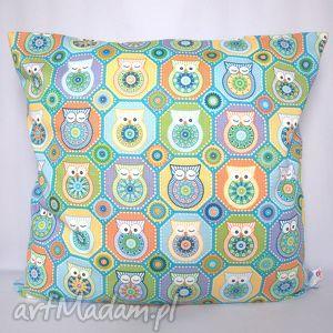 Prezent Poduszka w sowy piękna ozdoba prezent!!, poduszka, jasiek, sowy, prezent,