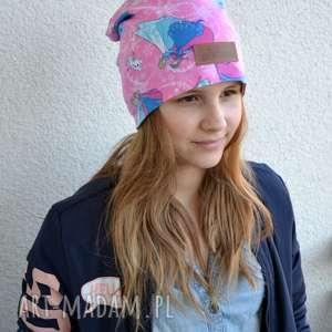 Kolorowa czapka beanie Elsa Kraina Lodu, czapka, elsa, kraina-lodu, beanie, kolorowa,