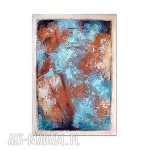 Grot 5, abstrakcja, nowoczesny obraz ręcznie malowany, obraz, nowoczesny, abstrakcja