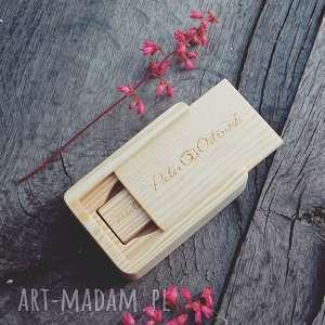 makama2 pendrive - sosna 1 8 gb grawer, drewno, pendrive