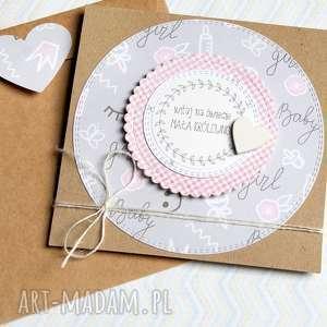 kartka z okazji narodzin dziewczynki, narodziny