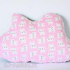 poduszka - chmurka 2 - poduszka, dziewczynka, chmurka, kotek, urodziny, przytulanie