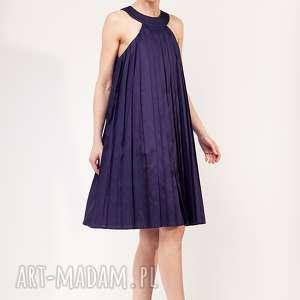 sukienka amonwan, plisowana