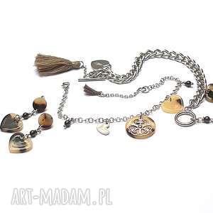 handmade alloys collection /chain/ heart animal