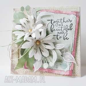kwiatowa - w pudełku, imieniny, urodziny, ślub, mama