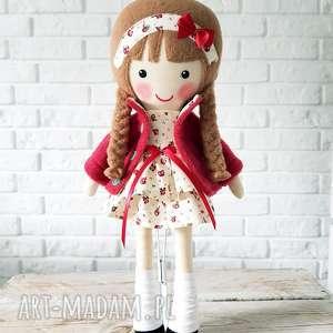 lalki malowana lala róża, lalka, przytulanka, dzjecko, zabawka, prezent