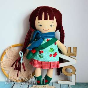 hand made upominki świąteczne lalka klemka ubranka - aurora 40