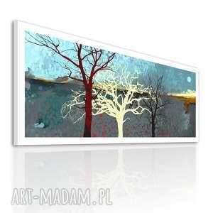 Obraz na płótnie 150x60cm - Drzewa 0216 wysyłka w 24 h, drzewa, pejzaż, obraz, wydruk