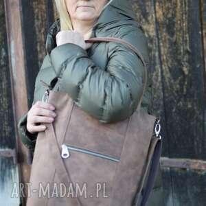 juti bags duża skórzana torba, torebka, torebka do pracy