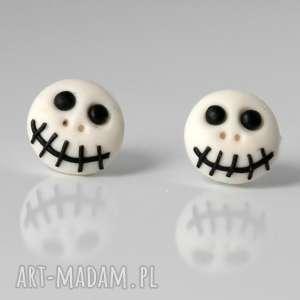 halloween - kolczyki wkręty, halloween, kolczyki, czaszki, duchy, duch, czaszka