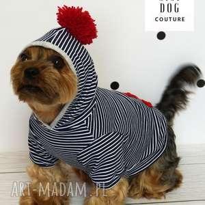 Bluza z kapturem dla psa, ubranko, ubranie, kurtka, sweter, york, chihuaua
