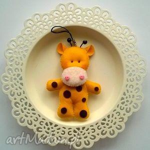 breloczek żyrafa, breloczek, brelok, filc, prezent, wyjątkowe prezenty